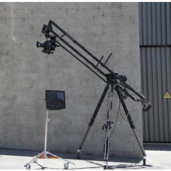 Rent Kessler 8ftCrane with Revolution 2 pan/tilt head and monitor