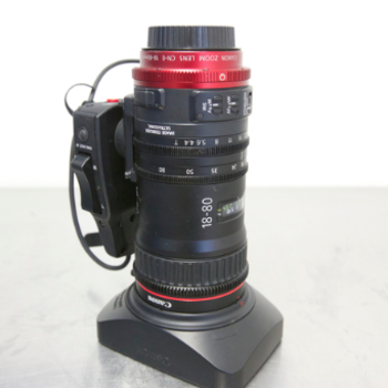 Rent Canon CN-E 18-80mm T4.4 COMPACT-SERVO Zoom Lens (1 of 2)