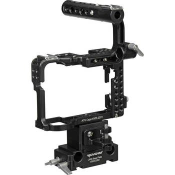 Rent Movcam Cage Kit for Sony a7S + Shoulder pad and hand grips