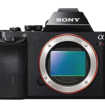 Rent Sony A7r Mirrorless Camera
