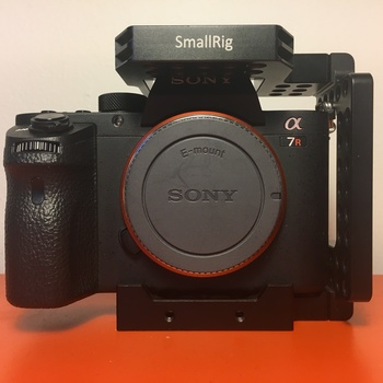Rent Sony A7RII with smallrig cage