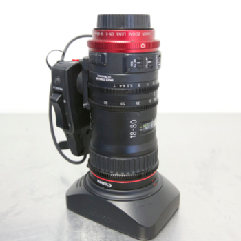 Rent Canon CN-E 18-80mm T4.4 COMPACT-SERVO Zoom Lens (2 of 2)