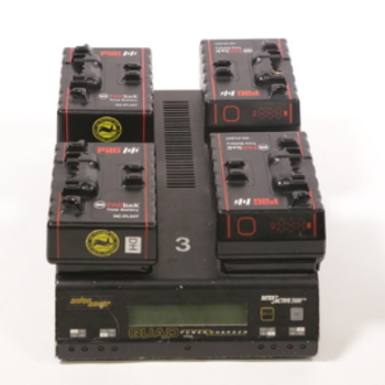 Rent 4 PAGlink batteries and a quad charger