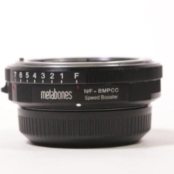 Rent Metabones Nikon G to BMPCC Speed Booster 0.58x