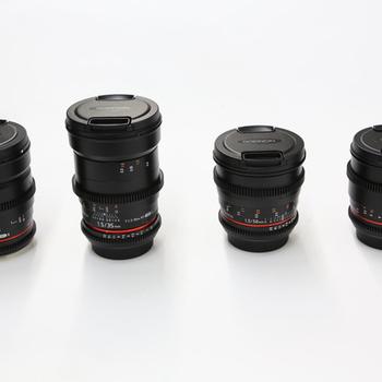 Rent Rokinon Cine Lens Set DS EF MOUNT 24/35/50/85