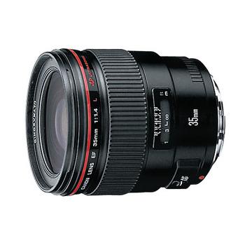 Rent Canon 35mm f1/4 Prime Lens