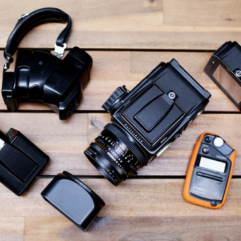 Rent ULTIMATE HASSELBLAD KIT | 503cw w/ 80mm Zeiss + Accessories