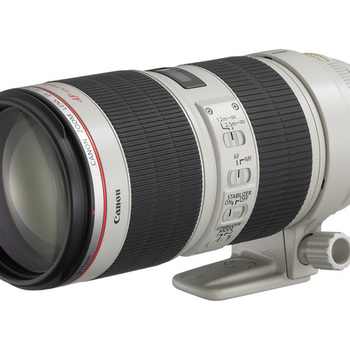 Rent Canon L-series 70-200 F2.8 Image stabilized (x5 available)