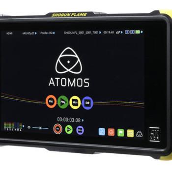 "Rent Atomos Shogun flame 7"" 4k recorder monitor & media"