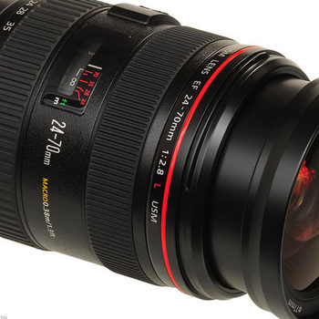 Rent Canon L-series 24-70mm F2.8 (x4 available)