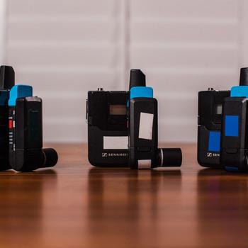 Rent 3x Full Sennheiser Lavalier Pro Sets