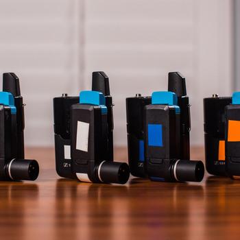 Rent 4x Full Sennheiser Lavalier Pro Sets