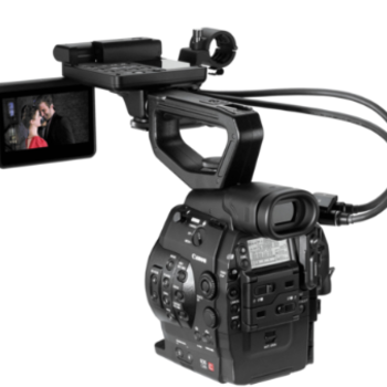 Rent (2) Canon C300 packages with accessories.