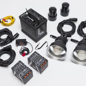 Rent Profoto B2R 1200 w/s Battery Powered Power Pack, Pocket Wizard radio built in, 2 x Profoto Pro 7 Strobe Heads