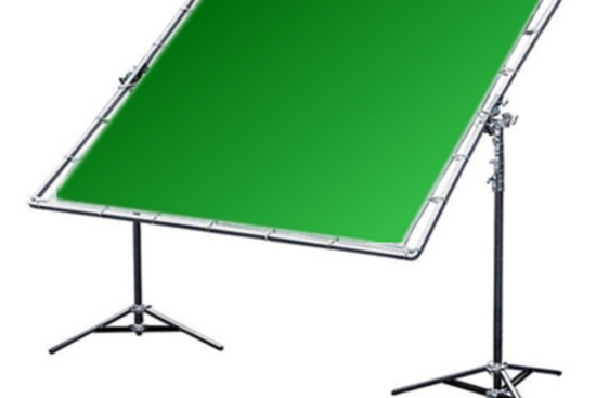 Rent A 8x8 Green Screen , Frame , Sandbags, And Stands In