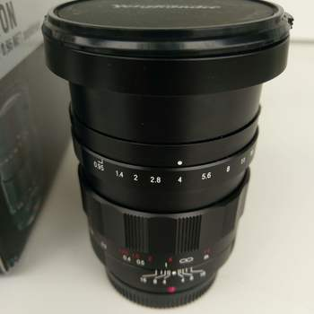 Rent Voightlander Nokton f0.95 prime lens 17.5mm