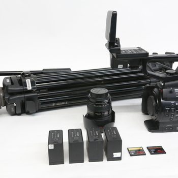 Rent Canon EOS C300 Camera Package w/ 16-35 & 24-105 & tripod