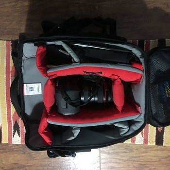 Rent Canon 5D Mark III w/ 24-105 lens AND Manfroto storage backpack