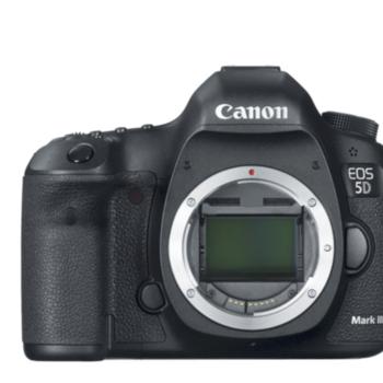 Rent Canon EOS 5D Mark III DSLR Camera