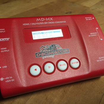Rent Decimator MD-HX HDMI/HDSDI Cross Converter
