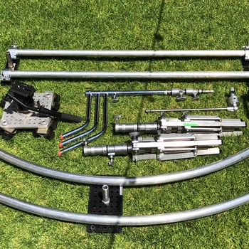 Rent Circular and straight Dana dolly Slider kit