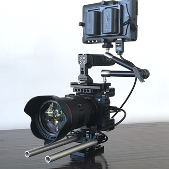 Rent Sony A7sII with Cage and Monitor