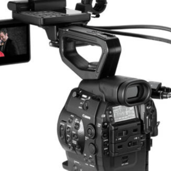 Rent Canon C300 EF mount with Canon 70-200 F2.8 IS lens