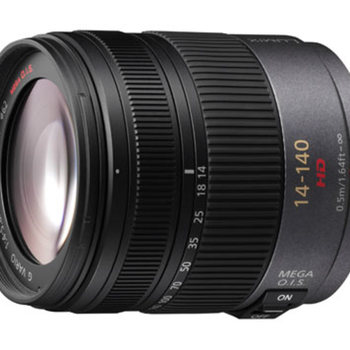 Rent Panasonic Lumix G Vario HD 14-140mm f/4.0-5.8 zoom lens