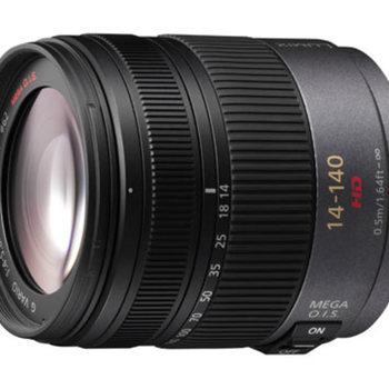 Rent Panasonic Lumix G Vario HD 14-140mm f/4.0-5.8 zoom lens
