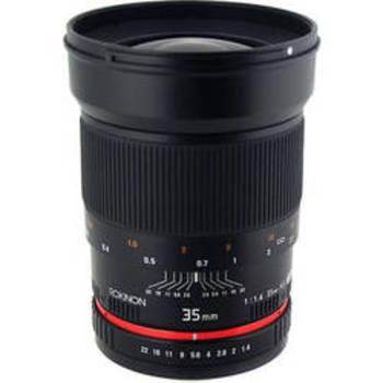 Rent Rokinon 35mm f/1.4 Lens for Canon Cameras