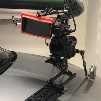 Rent GH5s Filmmaker Kit (Speed Booster, Multiple Lens, Custom Shoulder Rig, Monitor, Accessories, and Batteries Galore)