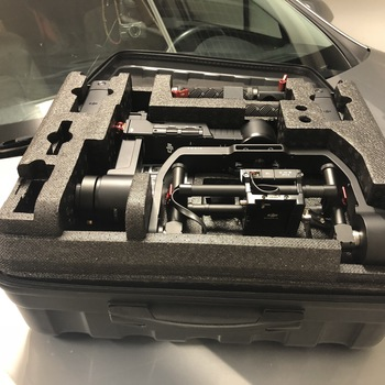 Rent Ronin-M w/ Hard Carry Case, Controller, & 2 Batteries