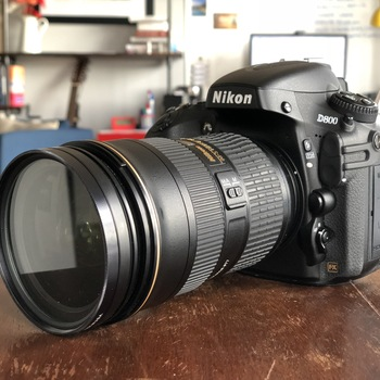 Rent Nikon D800 with 24-70mm 2.8 Zoom and 50mm 1.8 Prime