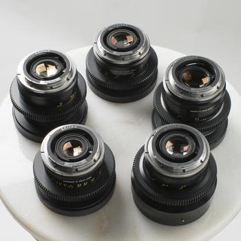 Rent Leica R Summilux Cine-mod 4 lens set