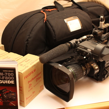 Rent PDW-F800 with color HD viewfinder