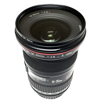 Rent Canon 16-35mm f2.8 ll USM with UV filter & Lens Hood