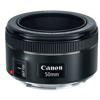 "Rent Canon ""Nifty"" 50mm 1.8 STM Lens"