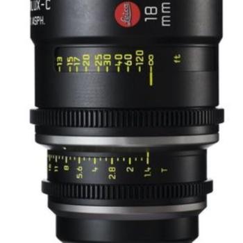 Rent 18mm Leica Summilux-C T1.4 Lens