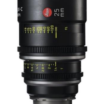 Rent 25mm Leica Summilux-C T1.4 Lens