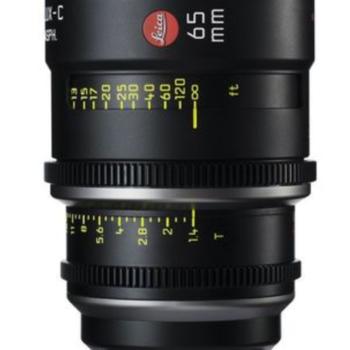 Rent 65mm Leica Summilux-C T1.4 Lens