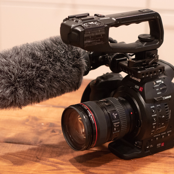 Rent Canon C100 Package w/ 24-105mm + Rode NTG4