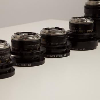 Rent Leica R Cine-mod LENS SET, EOS MOUNT - 19, 24, 28, 35, 50, 60 macro, 90, 135 and 180mm