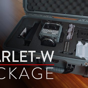Rent Red Scarlet-W  - FULL Package