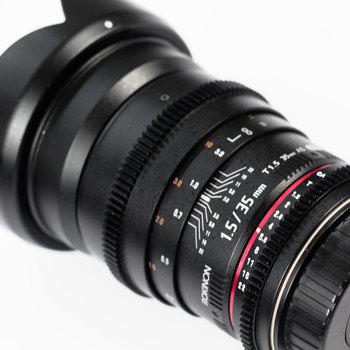 Rent Rokinon 35mm T1.5 Cine Lens (Canon EF Mount)