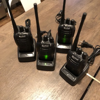 Rent Walkie Talkies - UHF 400-470Mhz