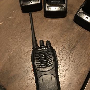 Rent Walkie Talkies - UHF 400-470Mhz