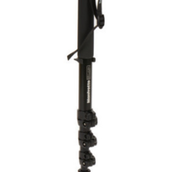 Rent Manfrotto 562B-1 Fluid Video Aluminum Monopod with 357 Quick