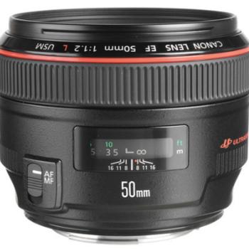 Rent Canon EF 50mm f/1.2L