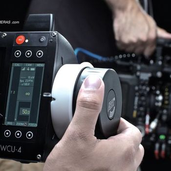 Rent ARRI WCU-4 w/ (3) C-FORCE MOTORS REMOTE LENS CONTROL SYSTEM