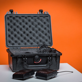 Rent Sennheiser Wireless Lav Kit with Pelican Case and Upgraded Mic